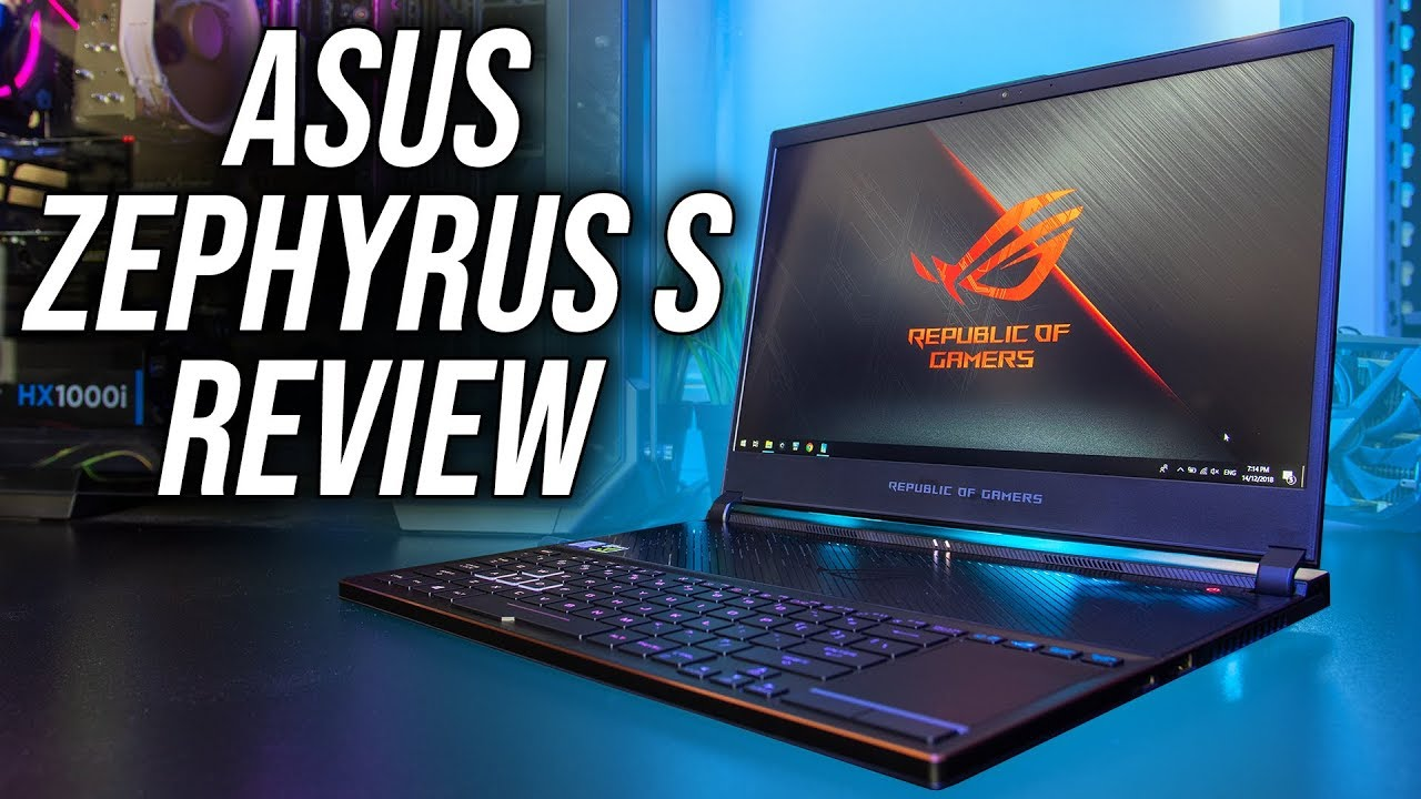 ASUS Zephyrus S (GX531) Gaming Laptop Review and Benchmarks