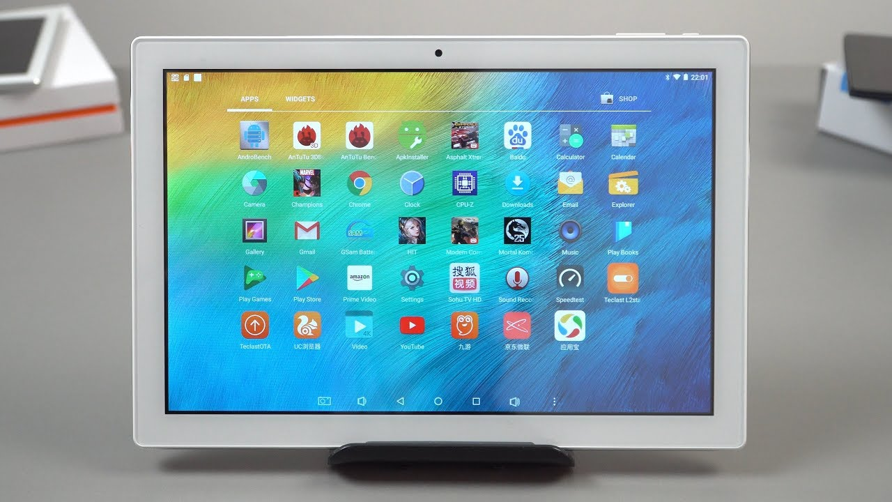 Teclast P10 Review  – $99 Android 7.1 Tablet