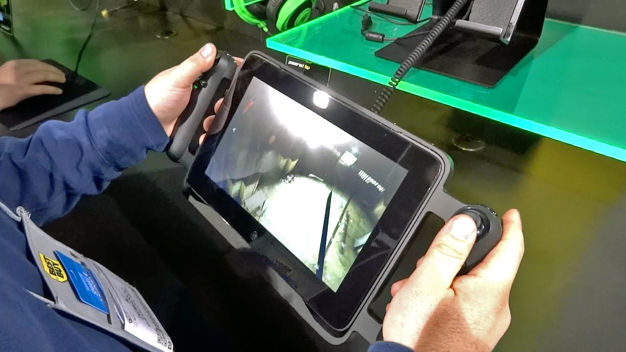 Razer Edge Gaming Tablet Hands-on (CES 2013)