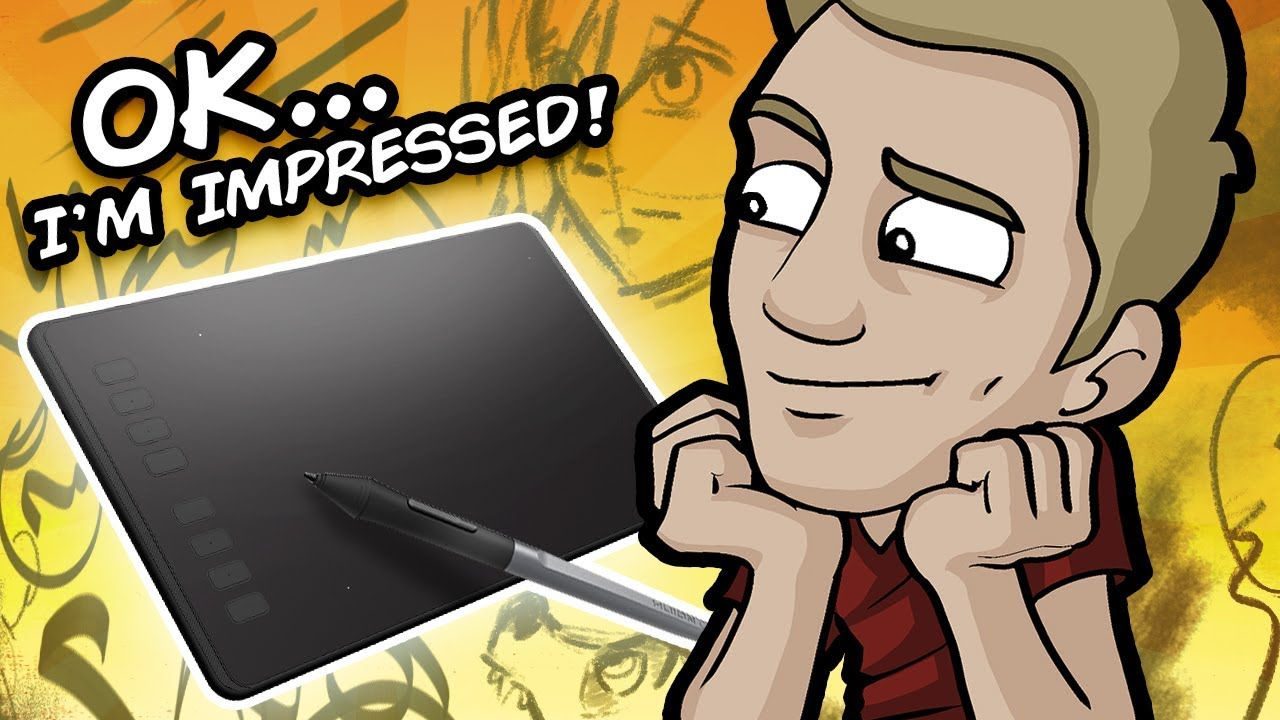 MY #1 BUDGET DIGITAL TABLET!  – Huion Inspiroy H950P Review