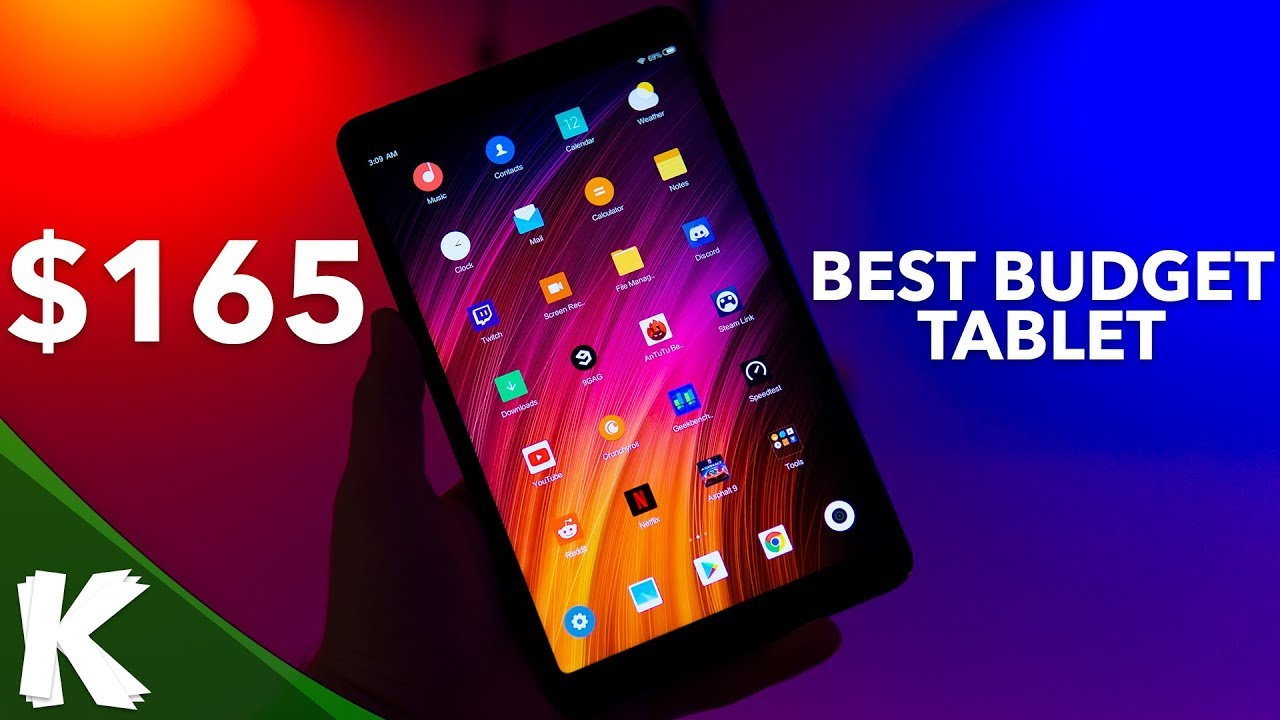 Xiaomi Mi Pad 4 | The Best Budget Android Tablet! | Initial Review