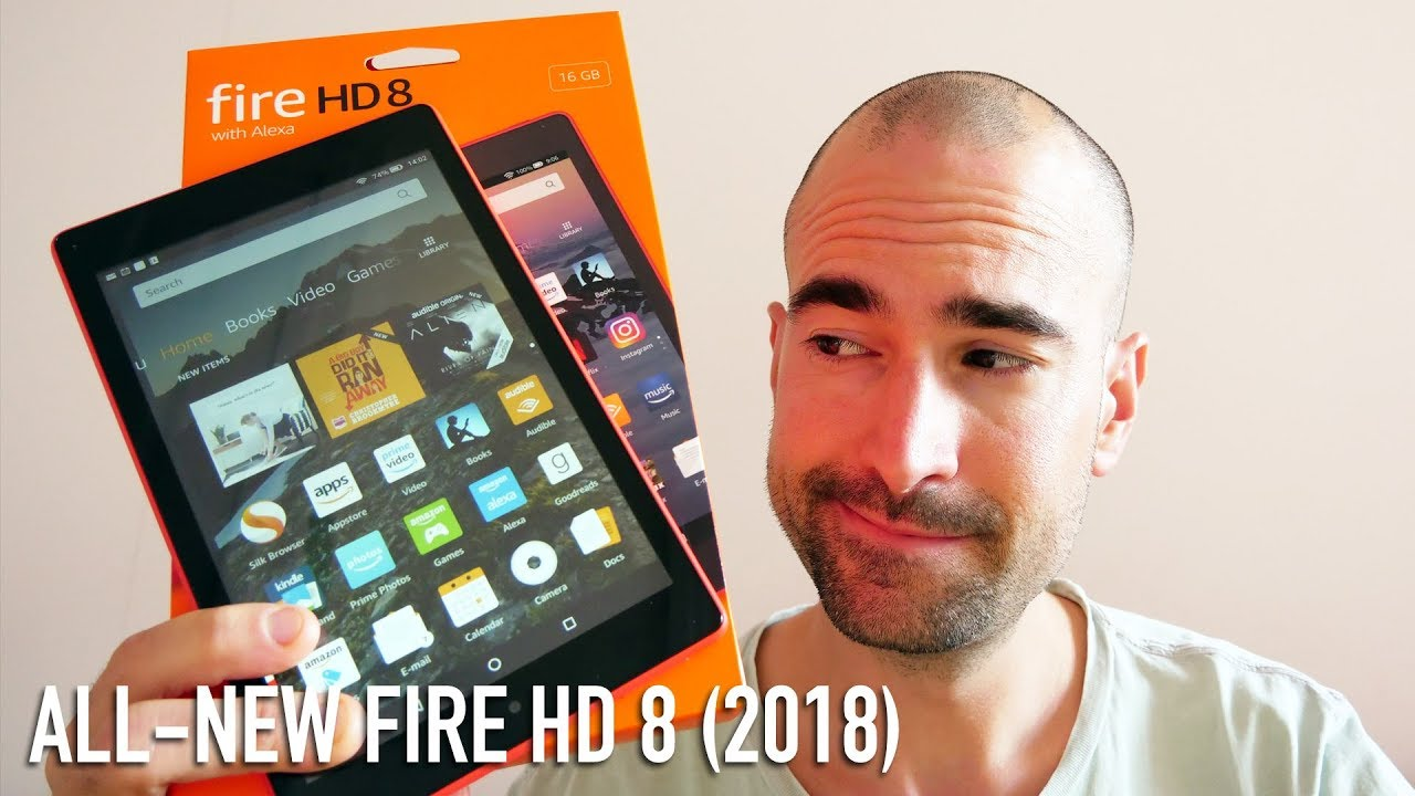 All-New Amazon Fire HD 8 Tablet (2018) | Unboxing & Review