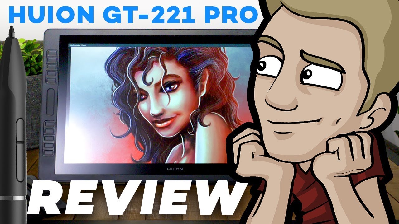 Huion GT-221 PRO:  Digital Tablet Review!
