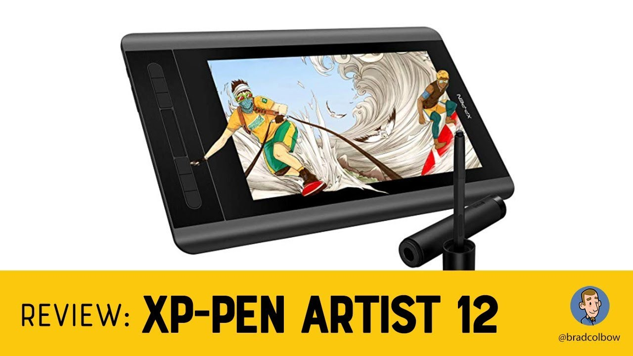 Review: XP Pen Artist 12 Drawing Tablet