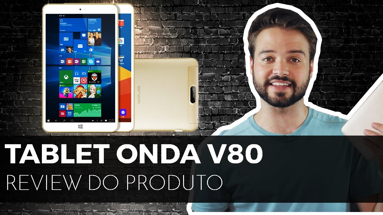 Tablet WINDOWS e ANDROID barato? | Onda V80 [ Review ] ?