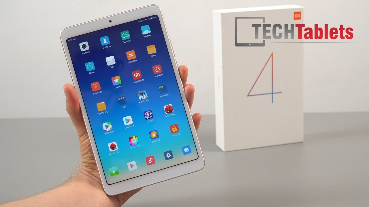 Xiaomi Mi Pad 4 Review – A Definite Improvement (English)