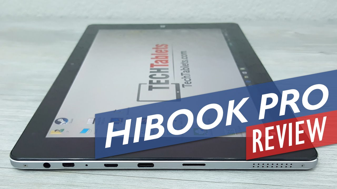Chuwi HiBook Pro Review – 2560 x 1600, Dual OS 2-in-1 Tablet PC