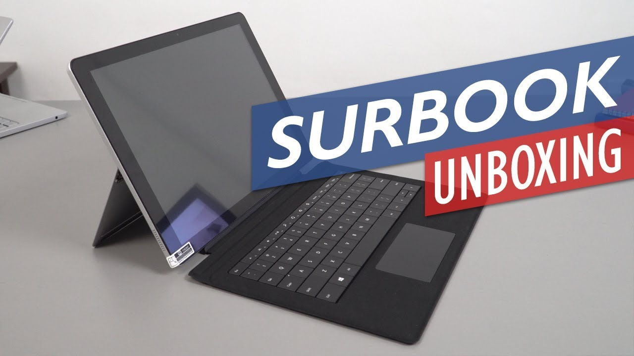 Chuwi SurBook Unboxing & Hands-On Review