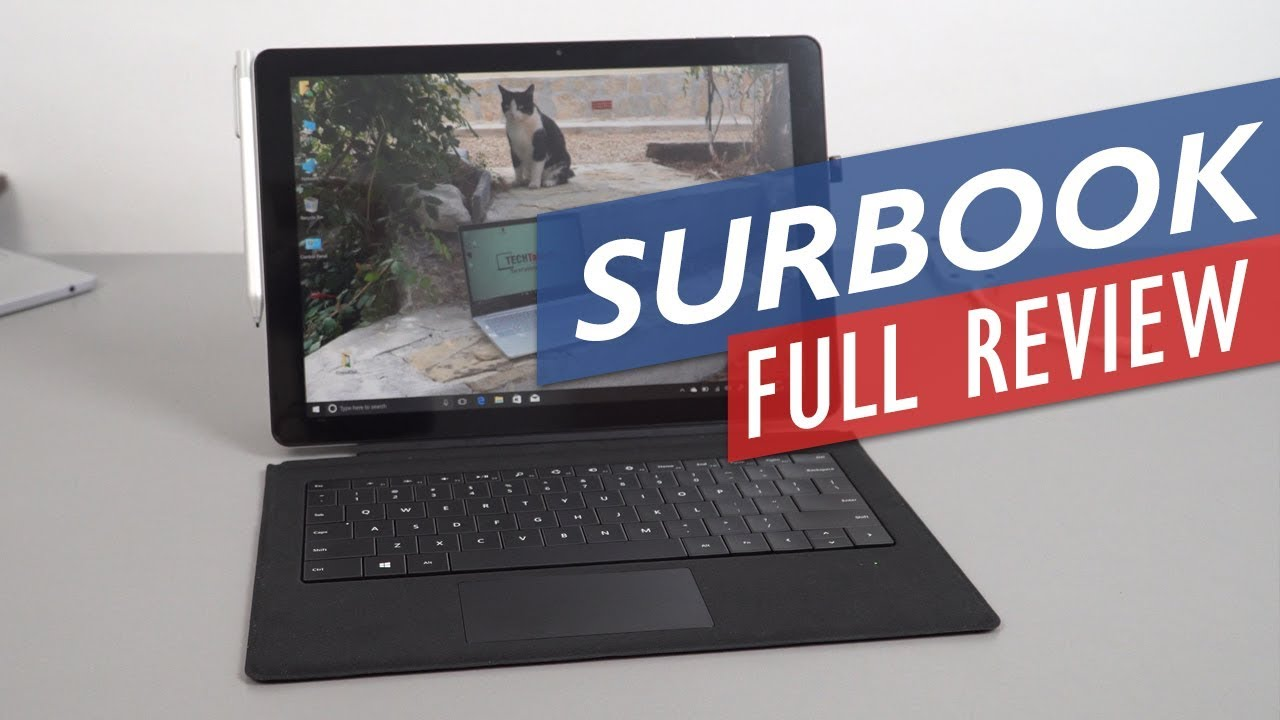 Chuwi Surbook Review – The Cheaper Surface Pro Alternative