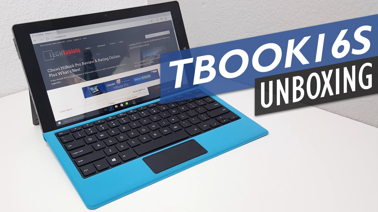 Teclast Tbook 16S Unboxing & First Look