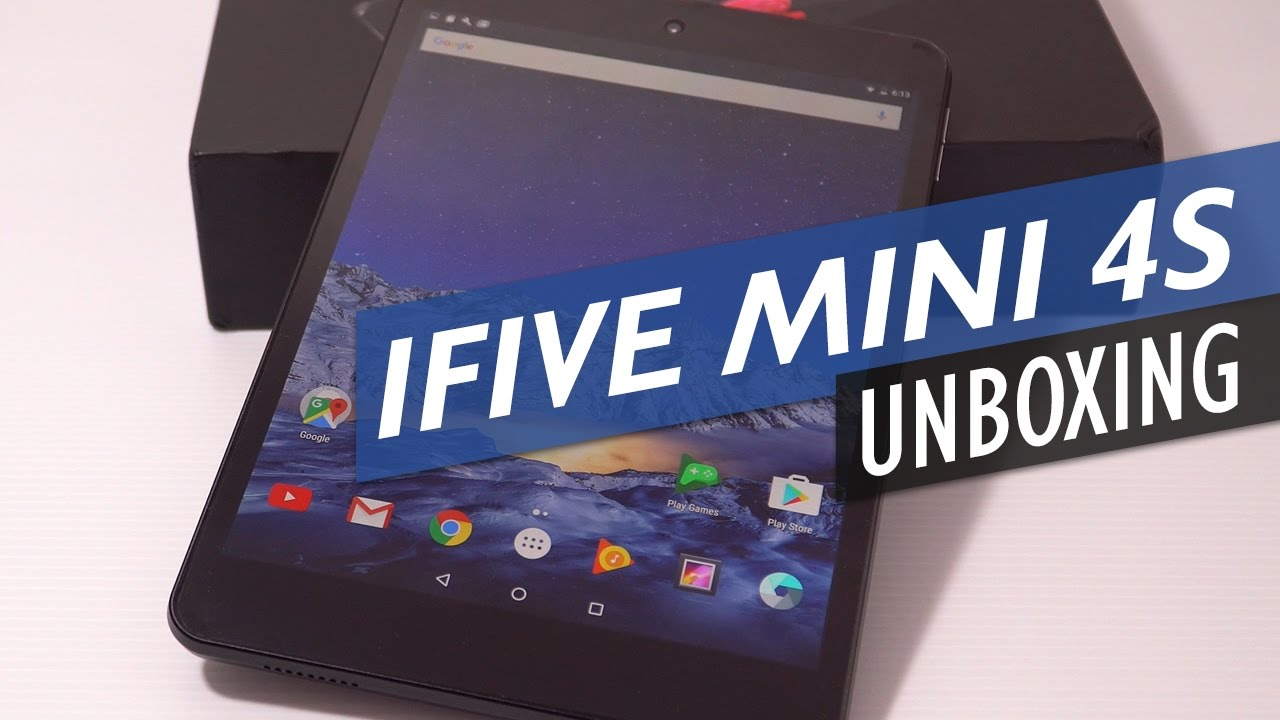 FNF iFive Mini 4S / RePad 8 Unboxing And Preview