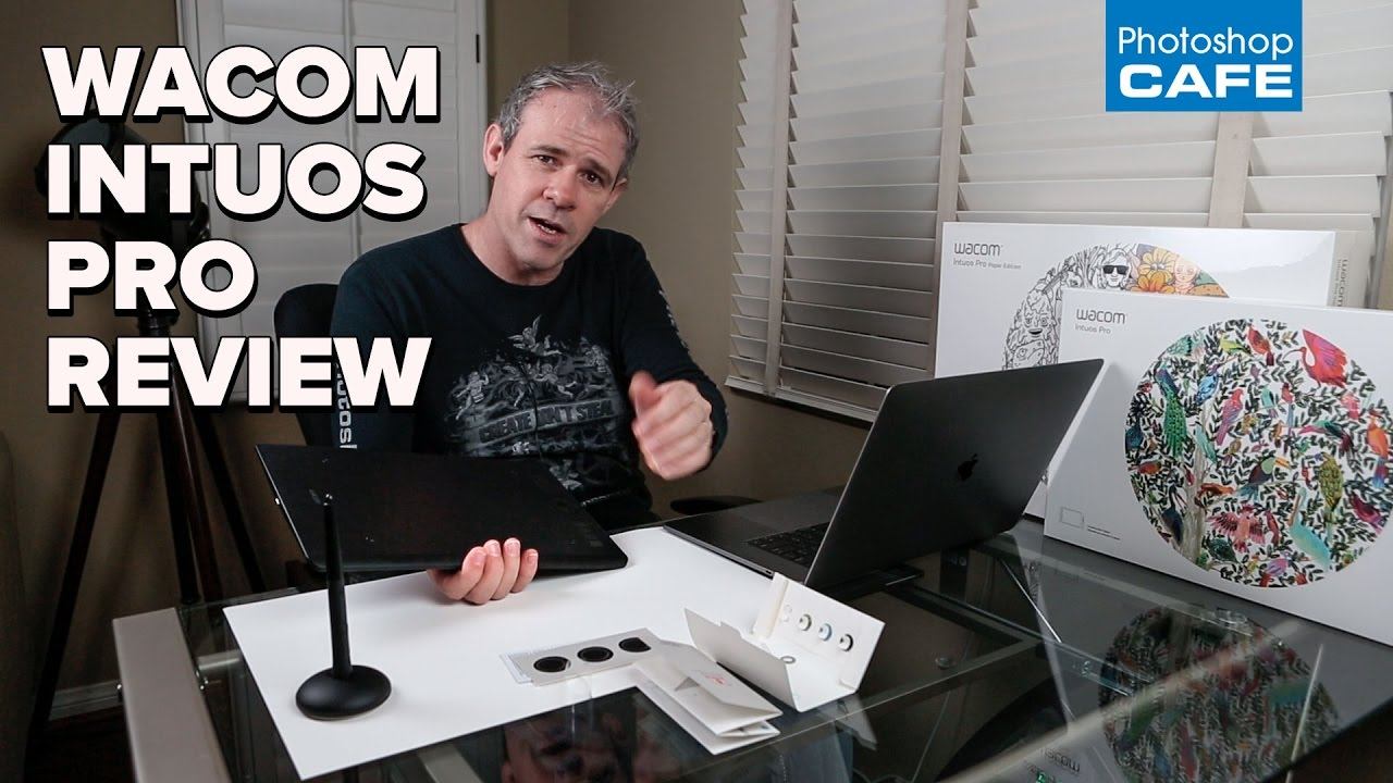 NEW WACOM intuos pro tablet REVIEW