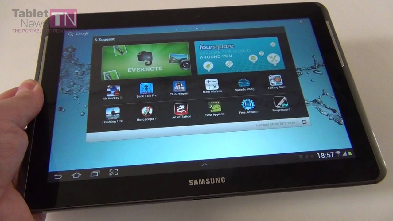 Samsung Galaxy Tab 2 10.1 Review – 10.1 Inch Android 4.0 Tablet