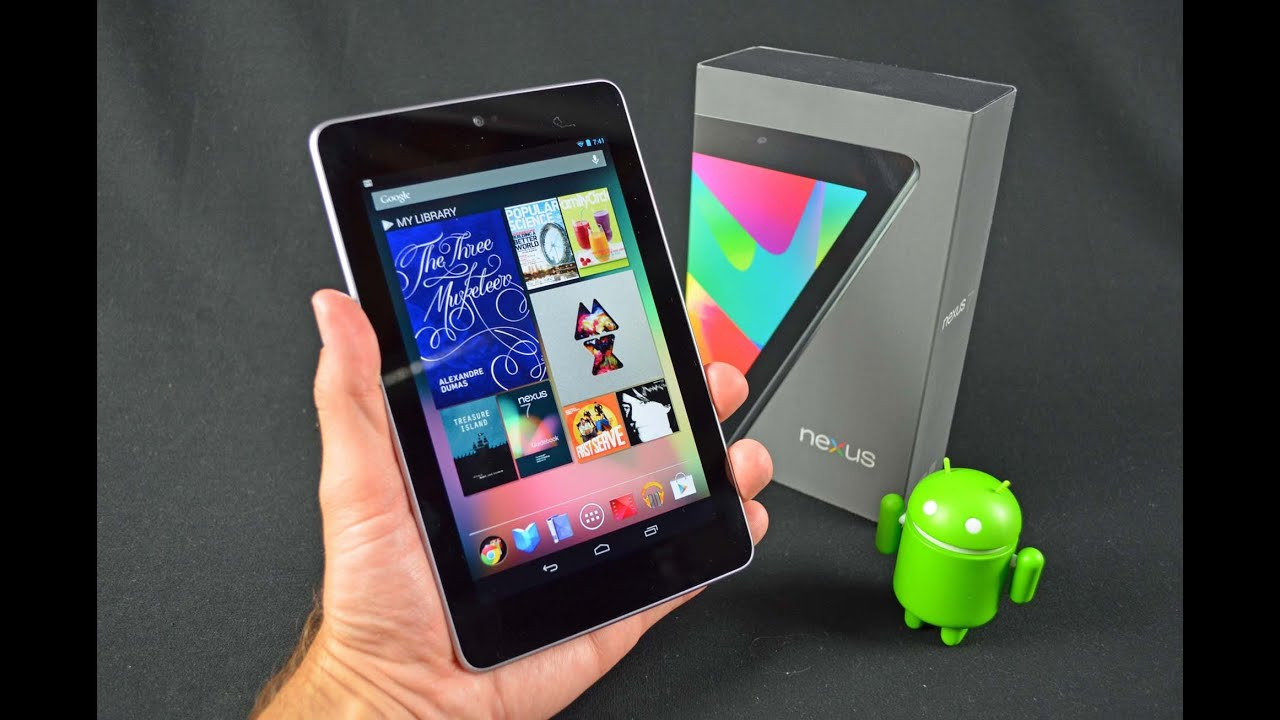 Google Nexus 7 Tablet: Unboxing & Review