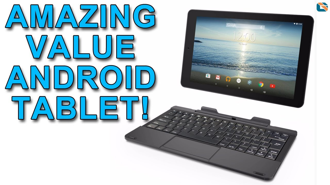 RCA Saturn 10 Pro Review • Amazing Value Android Tablet with Keyboard