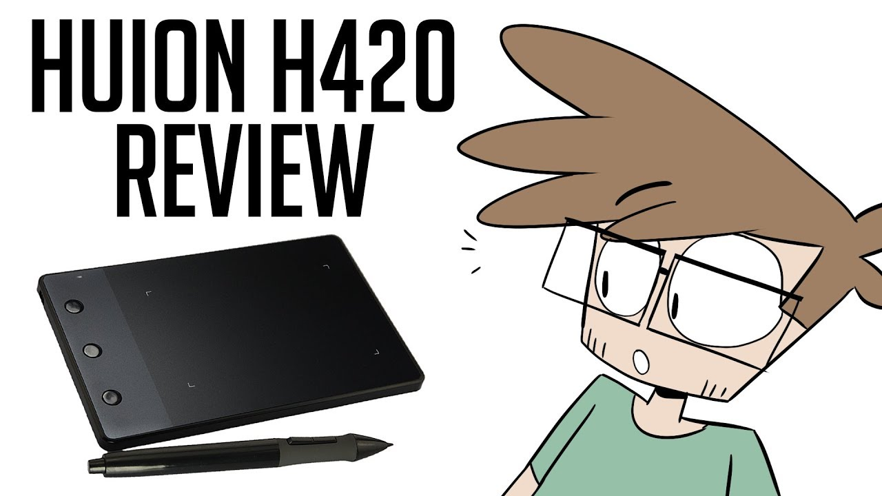 Art Tablet Review- Huion H420