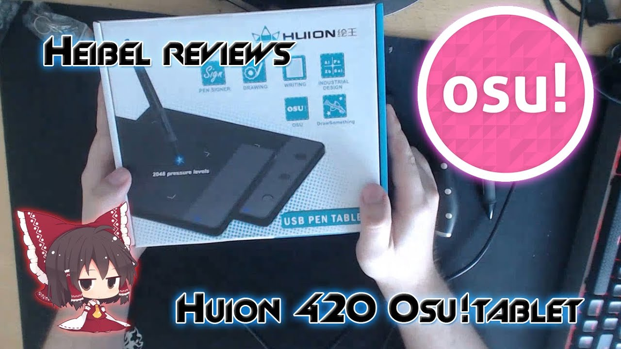 Huion 420 for osu! – Tablet review