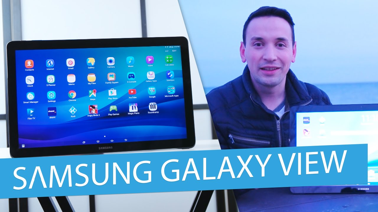 Samsung Galaxy View Review | 18.4 Inch Tablet – Best Tablet 2016