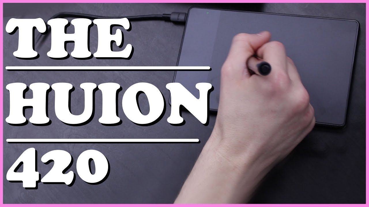 The Huion 420 Tablet Review