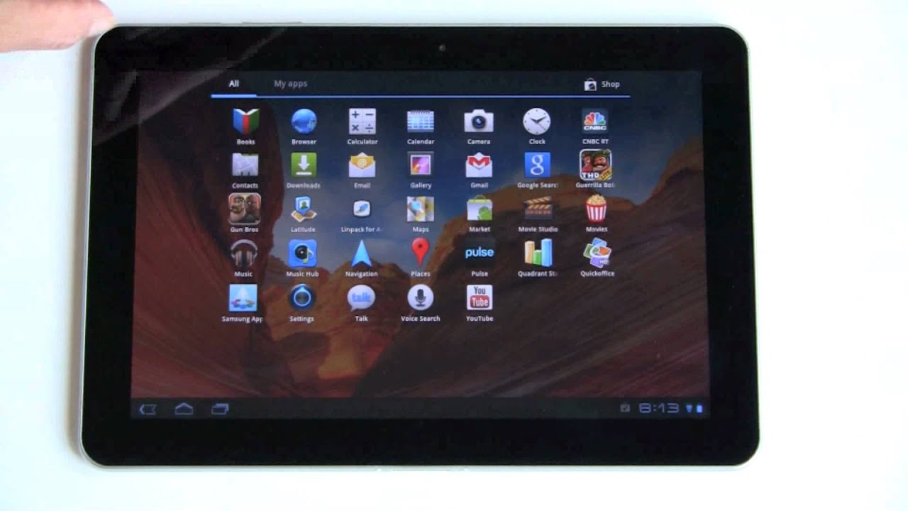 Samsung Galaxy Tab 10.1″ Android Tablet Review