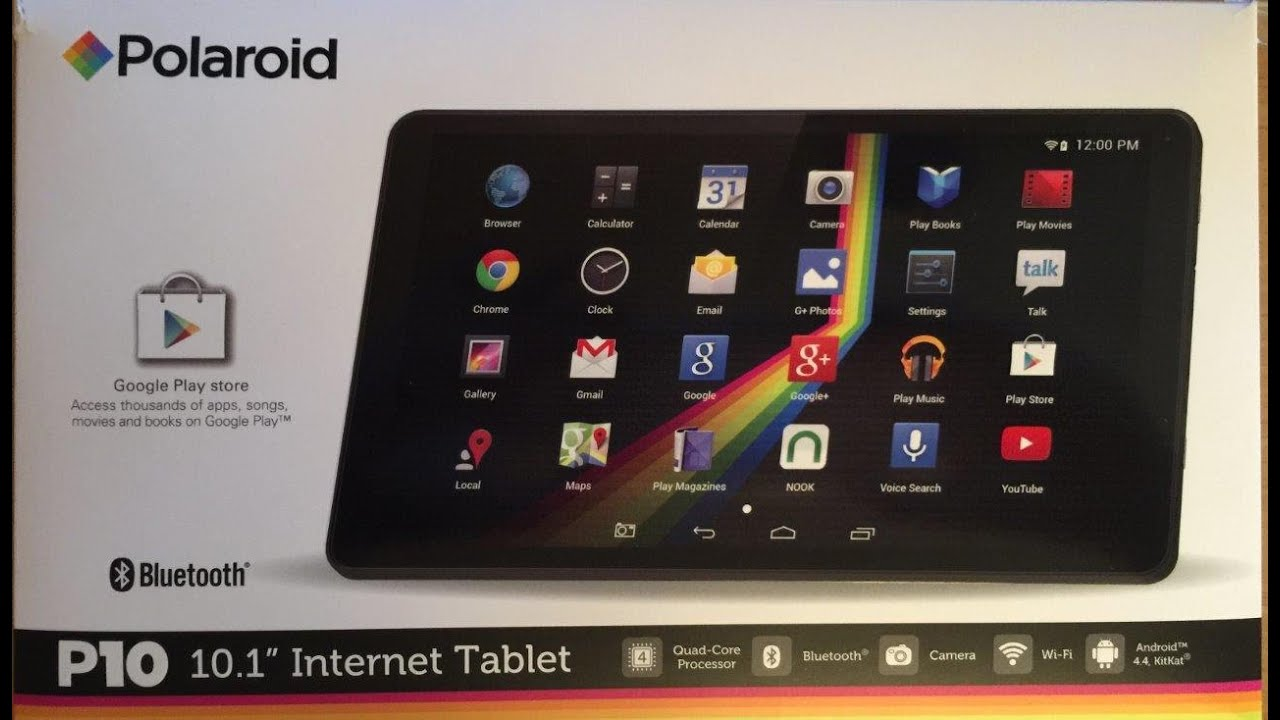 Polaroid P10 10.1″ Internet Tablet Review