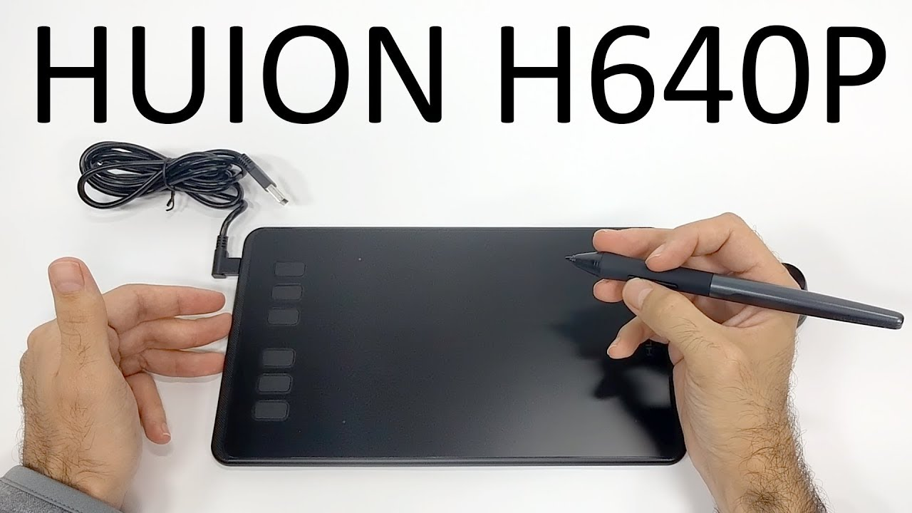 $50 Graphic Tablet with 8192 levels – Huion H640P Review