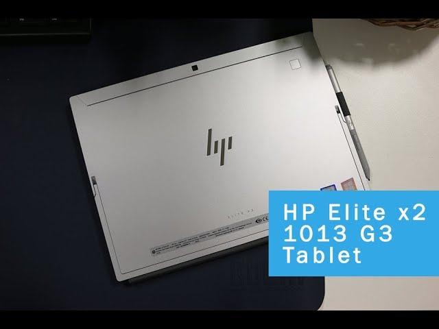 HP Elite x2 1013 G3 Tablet Review (2018)