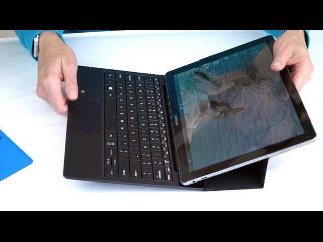 Samsung Galaxy TabPro S Review- 12″ Windows 2-in-1 AMOLED Tablet