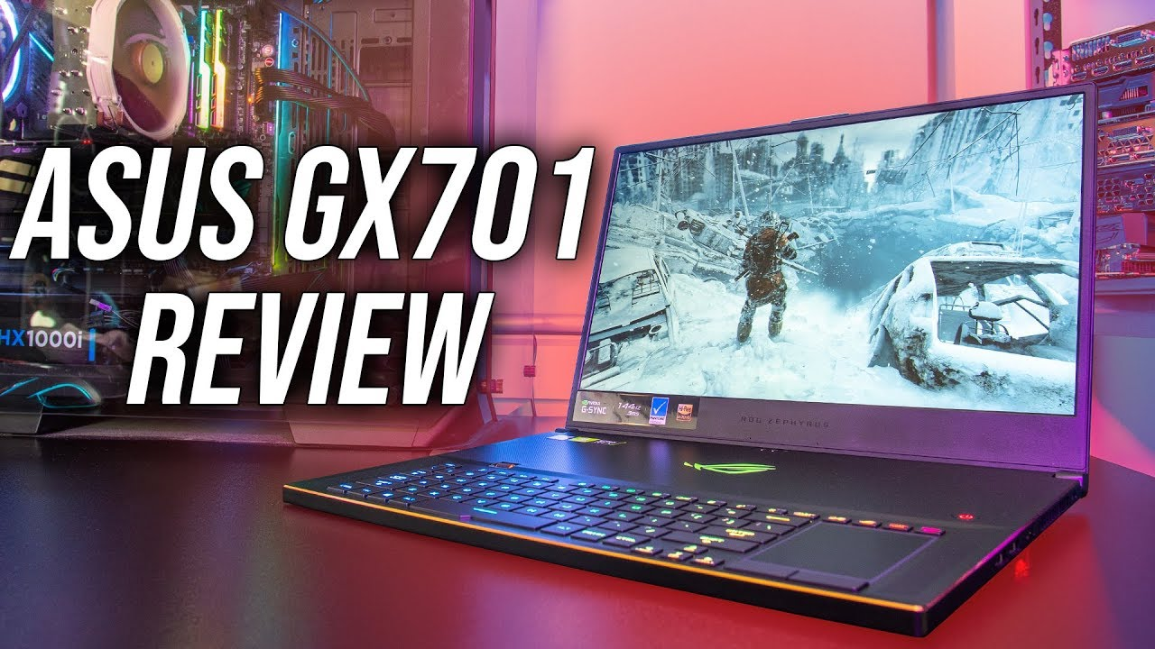 ASUS Zephyrus S (GX701) Gaming Laptop Review – Tablet PC