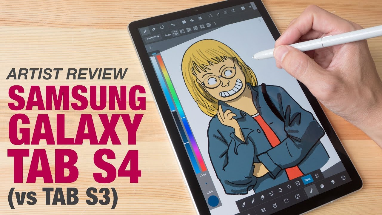 Artist Review: Samsung Galaxy Tab S4 for Drawing – Tablet PC