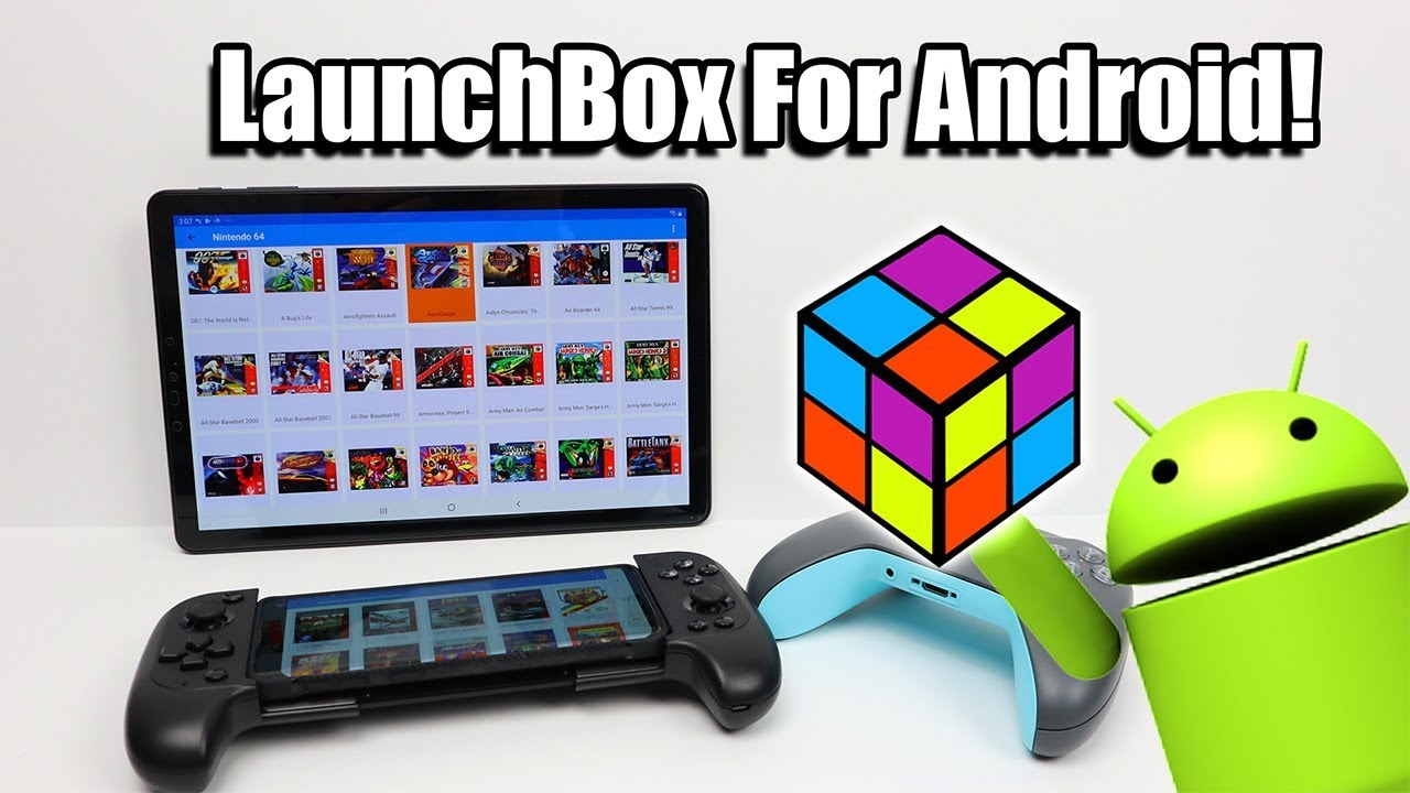 LaunchBox For Android! Phone Tablet Or Android TV – Tablet