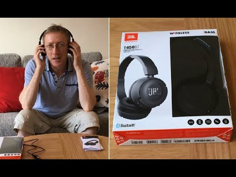 Jbl T450bt Bluetooth Wireless Headphones Review How To Connect To Smartphone Laptop Tv Tablet Pc Review Videos Price Comparison