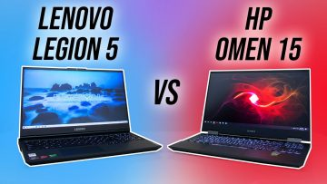 Lenovo Legion 5 vs HP Omen 15 Comparison – Which Ryzen Gaming Laptop?