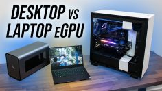 Laptop + eGPU vs Desktop – How Much Bottleneck?