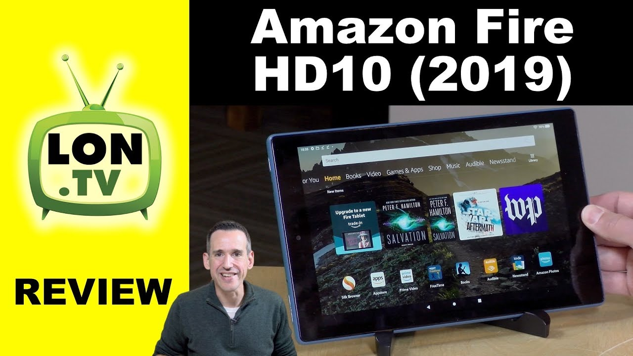 New 2019 Amazon Fire HD 10 Tablet Review – A nice improvement over the original