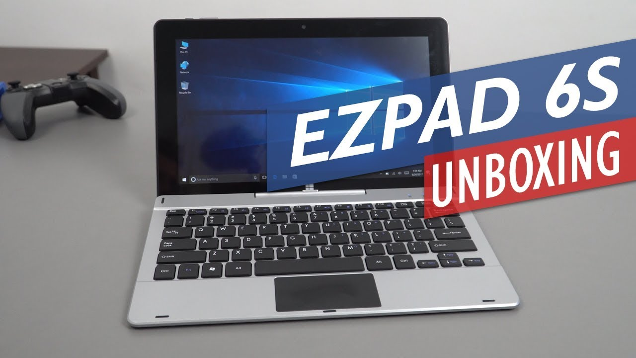 Jumper EZPad 6S 2-in-1 Windows 10 Tablet Unboxing & Hands On Review