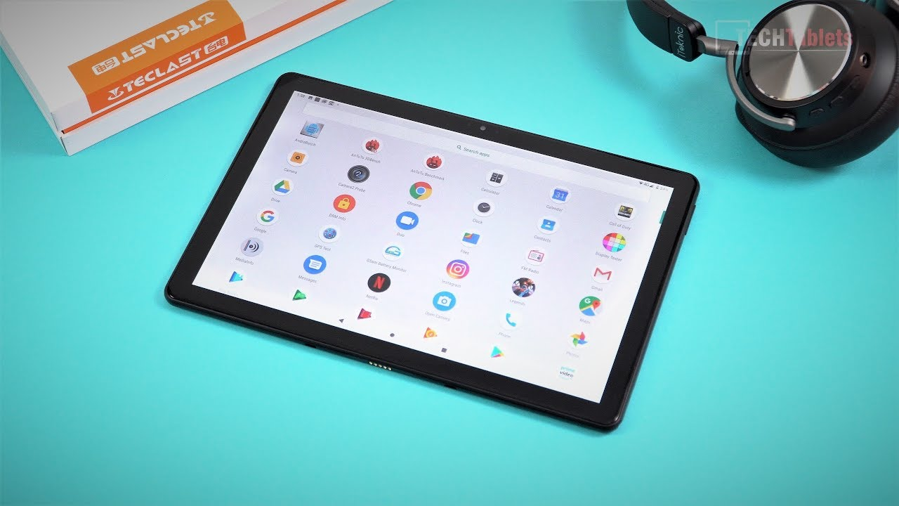 Teclast T30 Review – $189 4G Dual SIM Helio P70 Android 9.0 Tablet