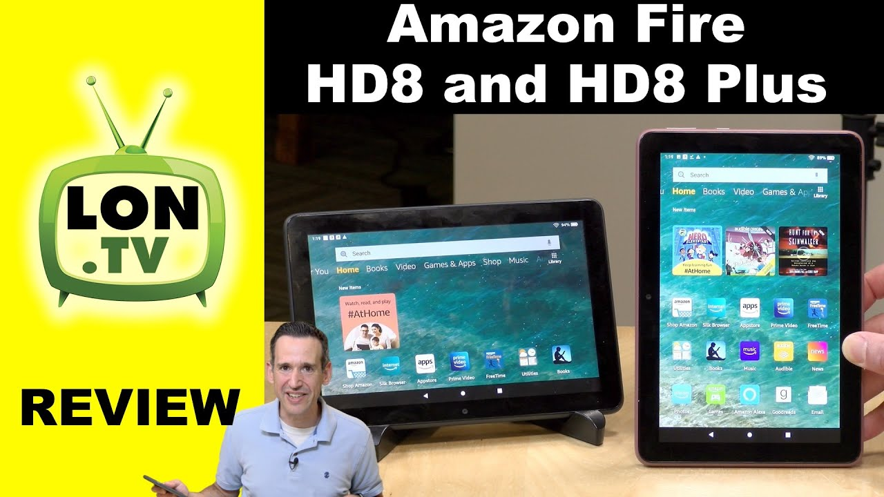 Amazon Fire HD8 and HD8 Plus Full Tablet Full Review – 2020 Version