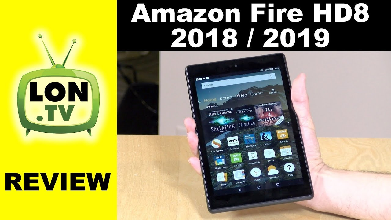 New Amazon Fire HD 8 Tablet Review for 2018 / 2019 – Same Hardware, New Software