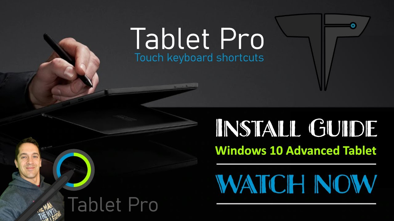 Tablet Pro install guide 2021 – Onscreen Toolbar, Pen Tool and Stylus upgrade for Windows 10 tablets