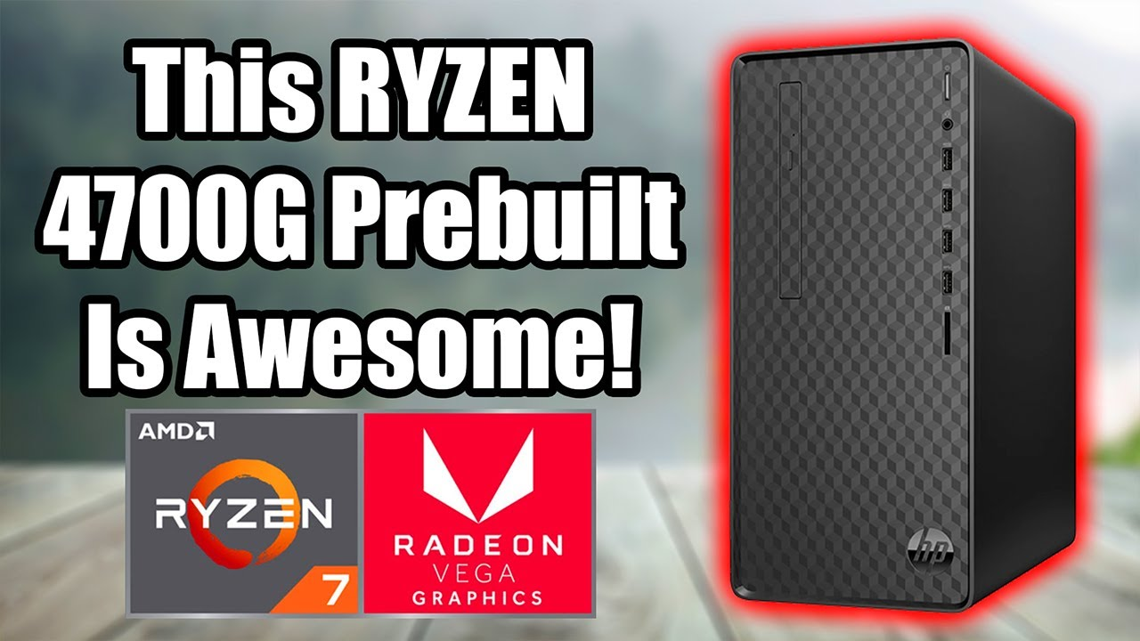Cheapest Ryzen 4700G Prebuilt PC – Outstanding Performance From This APU!