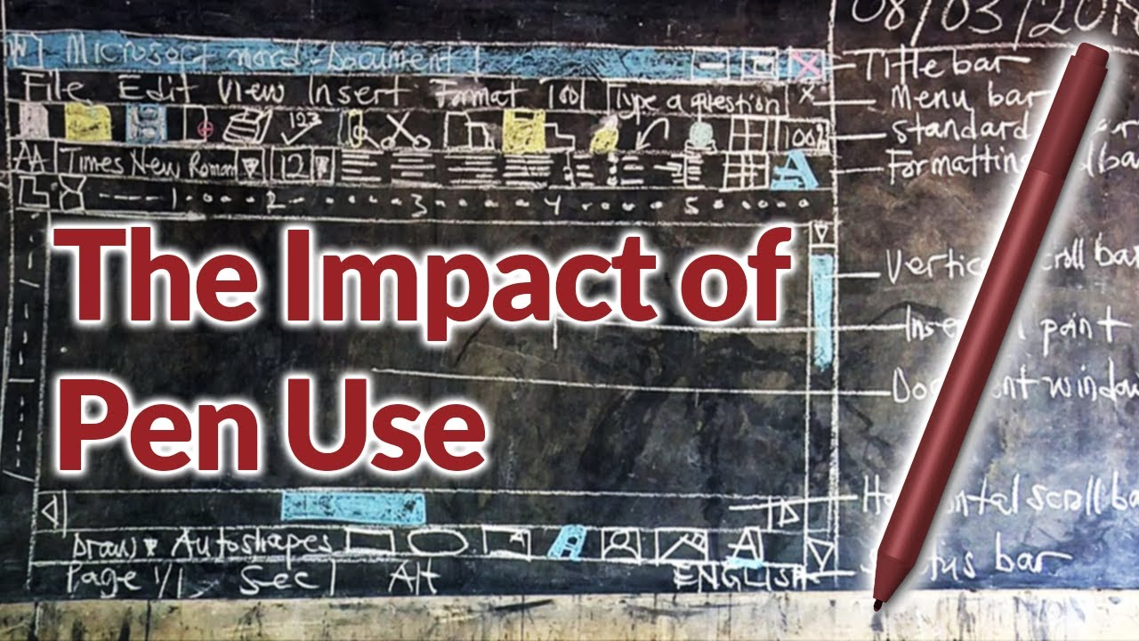 The Impact of Pen Use – Low Formality Thinking