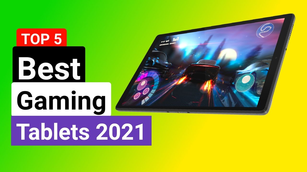 TOP 5:🏅Best Gaming tablets 2021 (Best Tablets Review)