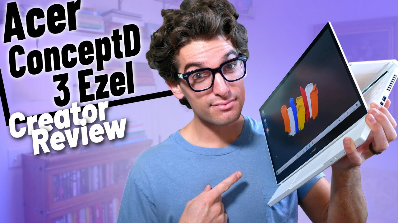 Acer ConceptD 3 Ezel | A True 2-in-1 Laptop for Artists and Designers