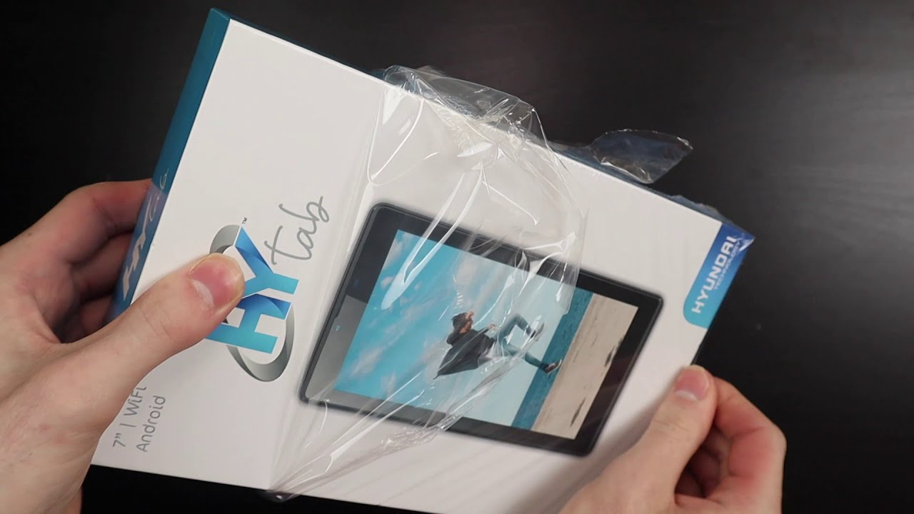 Unboxing a $50 Tablet From Hyundai – HyTab 7 Inch WiFi Tablet