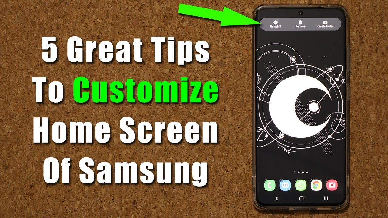 5 Great Tips To Customize The Home Screen of All Samsung Smartphones (One UI 3.1, 3.0, 2.5, etc)