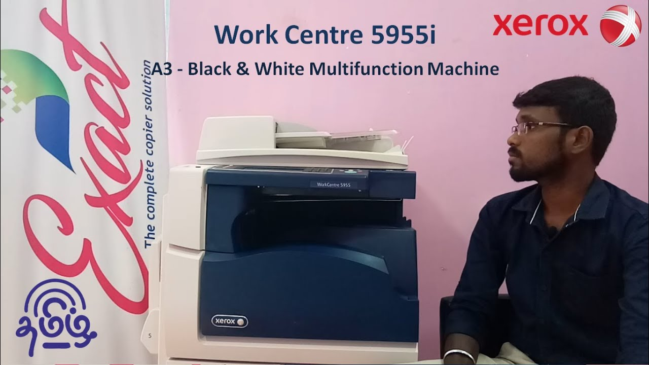 Xerox Work centre 5945 5955 Full specifications&Features  b&w  Machine   review  l first RC machine