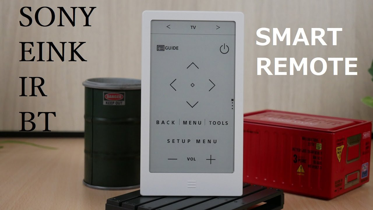 Sony e-Ink Smart Remote HUIS 100 Full Review