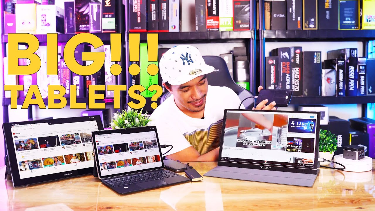 "UNCOMMON Cool Gadgets: Worth 8K for 15.6"" Display Tablet? TOTOO BA? ft WIMAXIT Portable Monitor 2021"