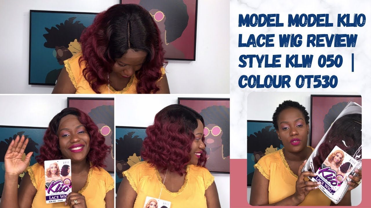 MODEL MODEL KLIO WIG REVIEW | KLW 050 | COLOUR OT530 | MY BLOOMING TV